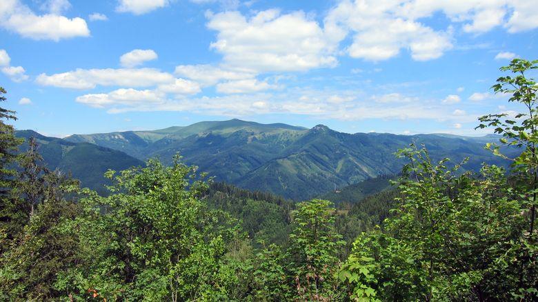 Slowakei, Berg Krizna in der Großen Fatra